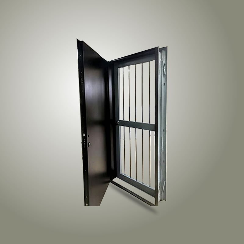 Puerta de Seguridad con Barrotes