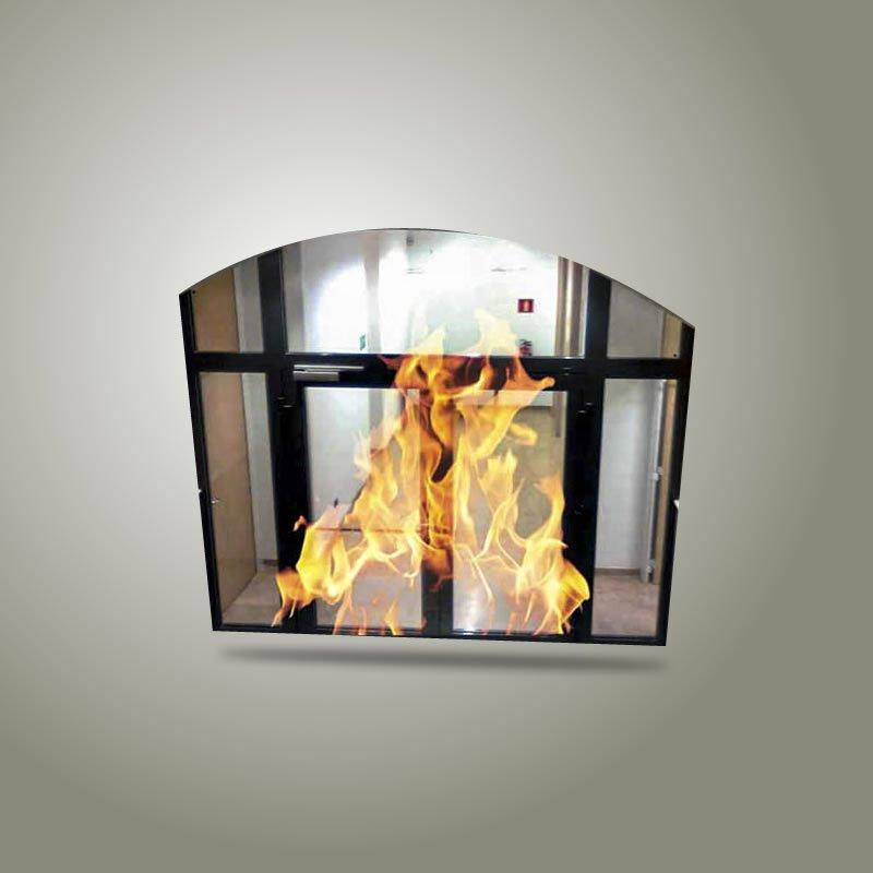 Puerta Corta Fuego de vidrio